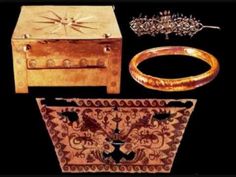 Larnax aus Grab König Phillip II.Vergina