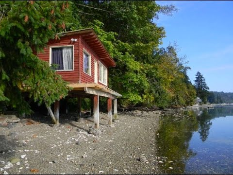 288 Sq. Ft. Waterfront Tiny Cabin with Lot For Sale