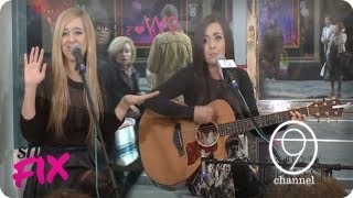 Megan & Liz Perform Live at Nine West! | Happy Never After | Live at 9W Lex