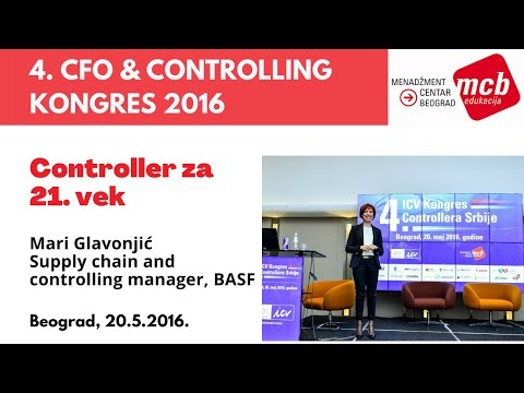 4.ICV Kongres controllera –Mari Glavonjić, Supply chain and controlling manager, BASF