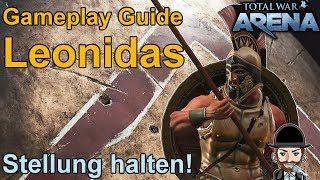 Total War Arena | Gameplay Guide: Leonidas (deutsch)