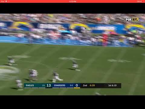 Tyrell Williams' 75-Yard Touchdown | Eagles vs. Chargers Week 3