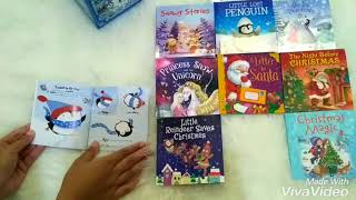 My Little Library of Snowy Stories includes 10 story books