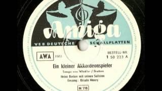 Ein Kleiner Akkordionspieler - Heinz Becker - Ursula Maury