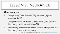 Ultimate Uber Driver Training Course - Lesson 7: Insurance