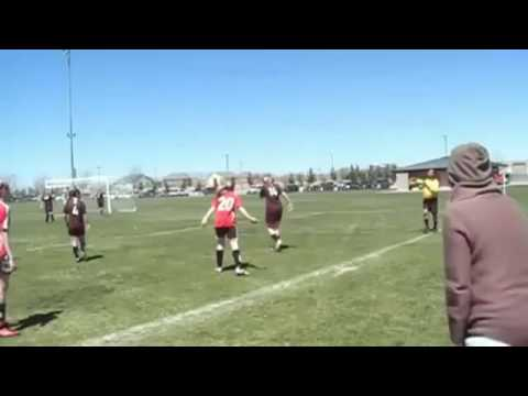 Girls Fight in a soccer Match