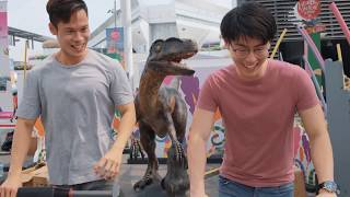 4 exciting worlds. 1 big, healthy adventure. watch how singaporeans from all ages and walks of life, went on the quest for living through excit...