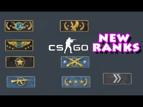 what are the cs go ranks