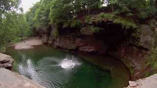 Cliff Jumping: The Furlong Cliffs, Durham, NY
