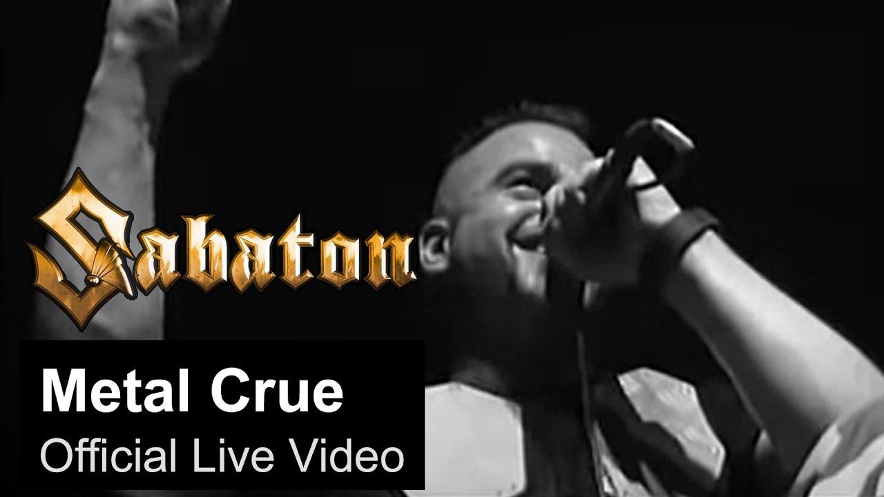 SABATON — Metal Crue (Official Live Video)