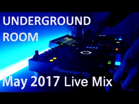Underground Room #1 | Live Mix (Dark Progressive House & Techno) (May 2017)
