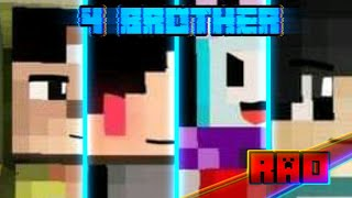 Op 4 BROTHER  animasi minecraft Android 
