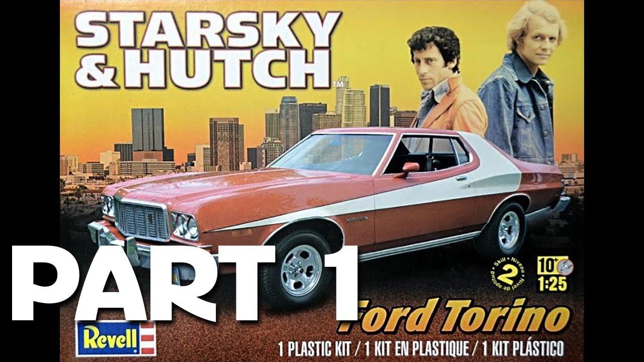 Revell//Monogram 1//25 Starsky /& Hutch Ford Torino Model Kit