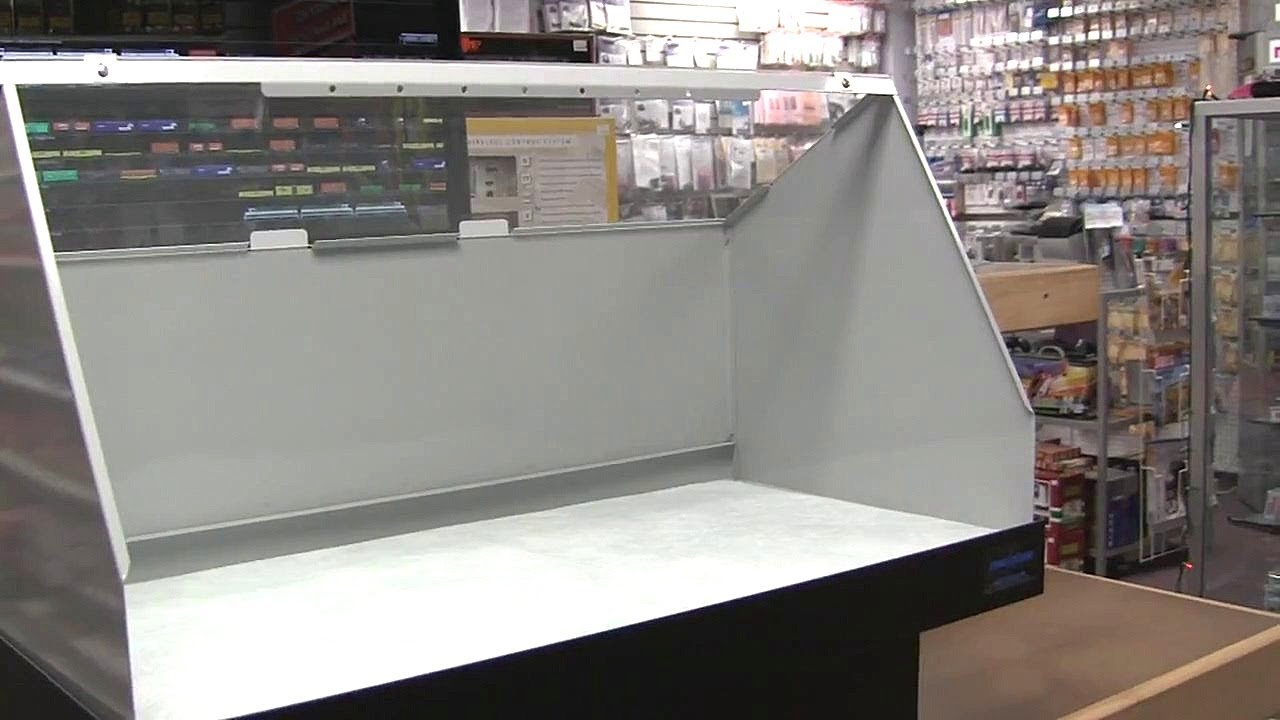 how to build hardwalls for booth
