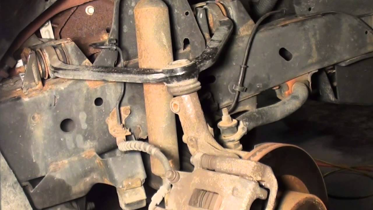 hight resolution of ford explorer how to replace upper ball joint