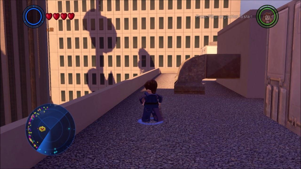 Lego Marvel Avengers. Lower West Side, Rooftop Maze Gold ...