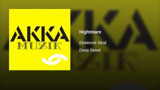 Nightmare (Original Mix)