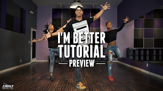 Dance Tutorial [Preview] - Missy Elliott - I'm Better - Phil Wright Choreography