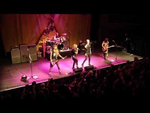 Steel Panther – James Durbin – Sweet Child O Mine – Rams Head Live Baltimore 5/17/12