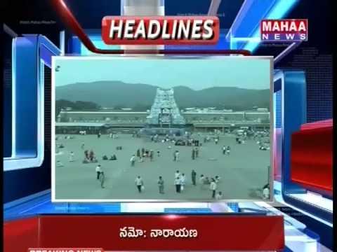Today Top Headlines On Mahaa Telugu News