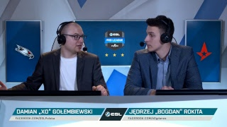 AGO Esports vs Astralis | ESL Pro League Sezon 8 EU | Tydzień 4 - Dzień 2 - Na żywo