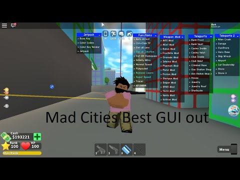 Mad City   Best GUI   Roblox Scripts - YouTube