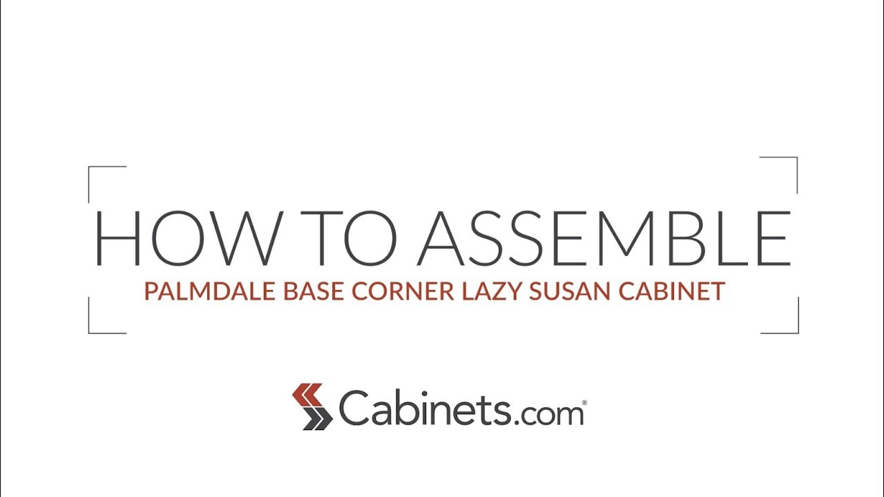 How to assemble a corner