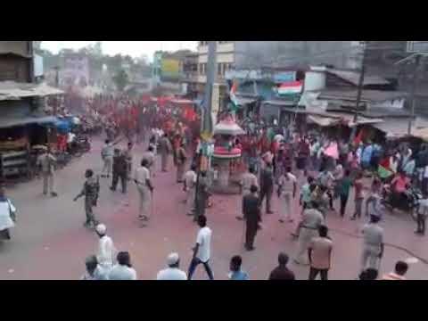 Ramnagar    West champaran   Bihar riots between Hindu and Muslim 2017. Every indian must whatch!!!