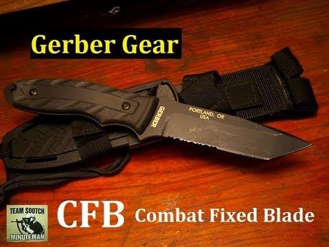 """Gerber CFB """"Combat Fixed Blade"""" Knife"""