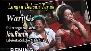 Tayub//Yen Ing Tawang Ono Lintang// Palaran//SETYO LARAS WARI.CS