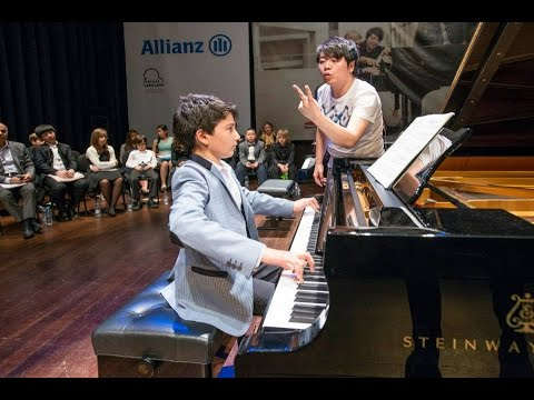 Kaan Baysal-Masterclass with Lang Lang -Chopin Nocturne no.20 C sharp minor
