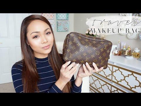 Inside My Travel Makeup Bag   LV Trousse Toilette 23   Charmaine Dulak