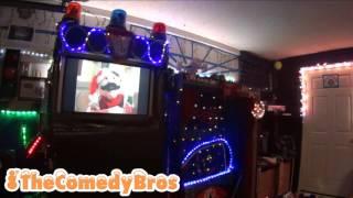 The Comedy Bros - Pasqually's ''Boar Head Carol'' Light Show