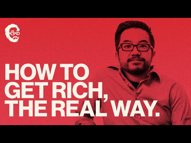 STOP Chasing Money -- Chase WEALTH. | How To get RICH | Garry Tan's Office Hours Ep. 4