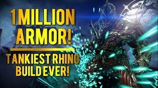 Warframe: Super THICC Rhino | 1 Million Armor!