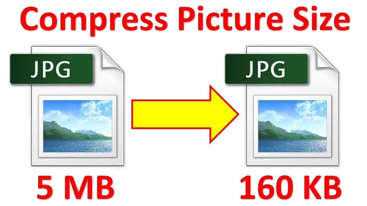 how to reduce the file size of pictures