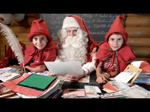 Free Talking Santa Letter