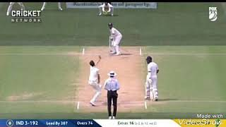 Ajinkya Rahana plays Shot Of the day   India vs Australia Test