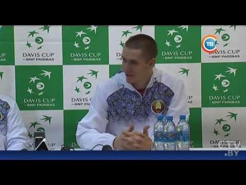 Сборная Беларуси по теннису одержала победу над румынами в Кубке Дэвиса