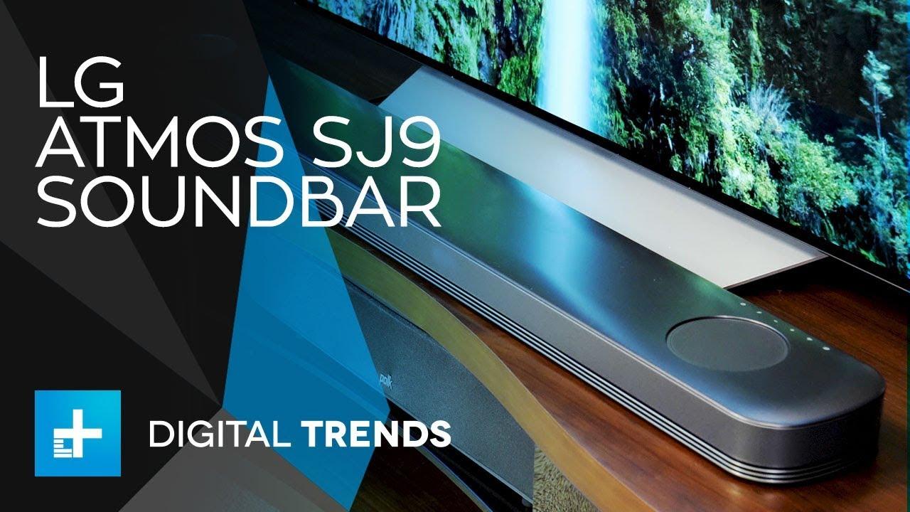 LG Atmos SJ9 Soundbar – Hands On Review