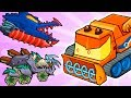 Car Eats Car 3 Evolution! This Is The Most Strongest BOSS Snowblower! New Cars Cyclone & Gravedigger
