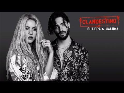 Shakira  Maluma  -  Clandestino  Bass boosted