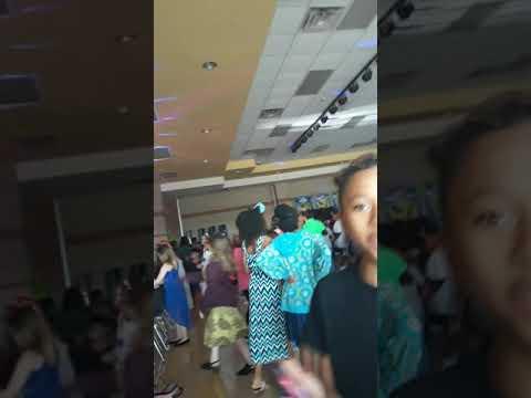 Saegert Elementary school dance  it is lit