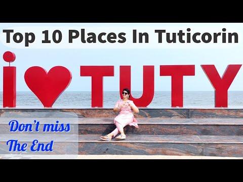 Tuticorin Vlog Top 10 places at Tuticorin Hare Island Manappad Beach Tirichendur Temple Salt Pans
