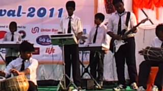 THE BEST & BIG BAND OF INDIA saraswati musical classes(SMC) students BAND  performance in  lucknow