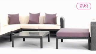 Noronha Outdoor Patio Set By Zuo Modern