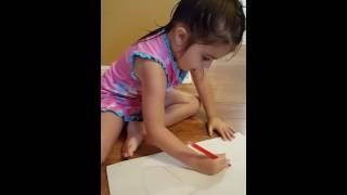 Precious Carly-Pie draws a heart for you ♡