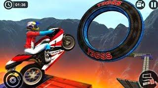 FINAL LEVEL OF IMPOSSIBLE MOTOR BIKE TRACKS 3D #q | Motor Cycle Games - Dirt Bike Racing Games