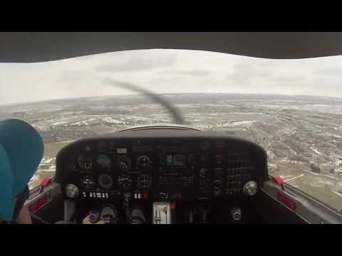 (GOPRO hero 3) Private pilot Solo Katana DA-20 Aspen Flying Club Centennial CO