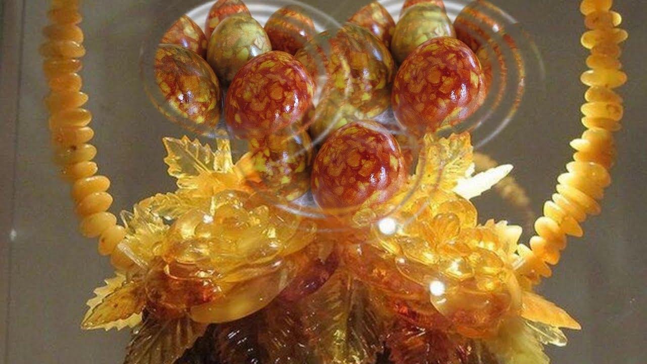 Янтарные Яйца на Пасху. Как покрасить яйца Просто и ...